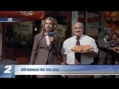 A W 2012 Buddy Burger Commercial Youtube Orbit Commercial Shut The Front Door