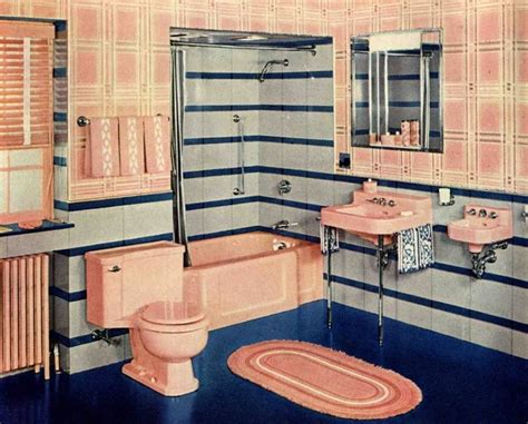 1940s bathroom design 1940s decorating style retro renovation