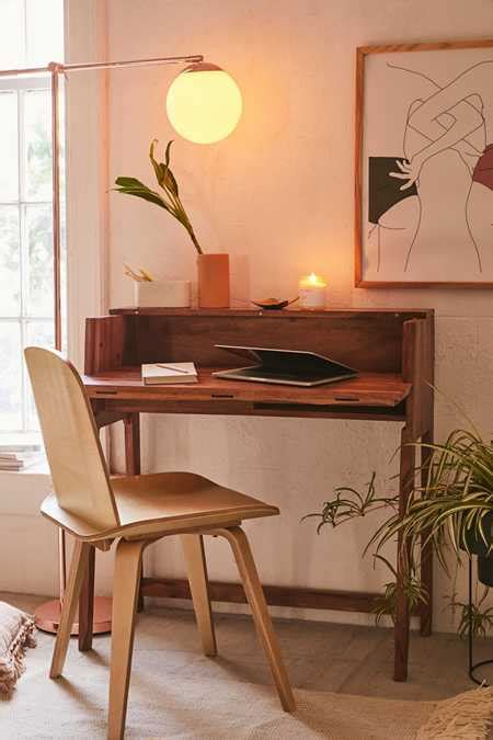 mid century fold out desk coffee tables side tables outfitters