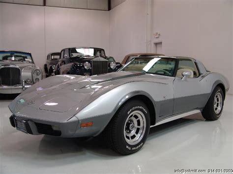 1979 corvette l82 value 1978 corvette l82 25th anniversary edition daniel
