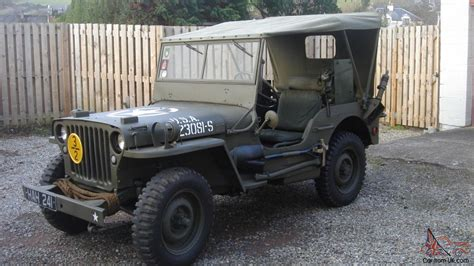 jeep ford 1942 willys ford gpw ww2 jeep and trailer