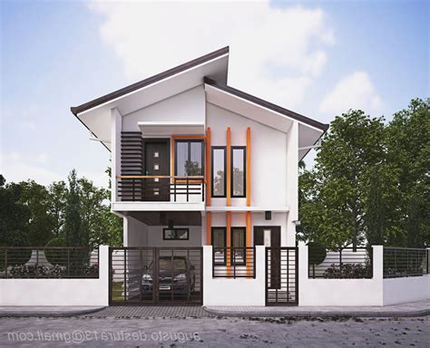 House Design by Small Zen Type House Design Homes Floor Plans