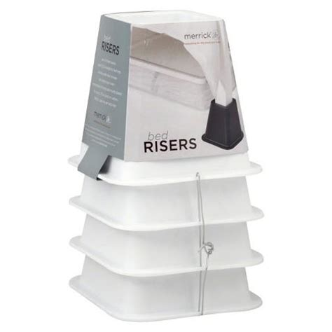 bed lifts target room essentials bed risers set of 4 from target dcp