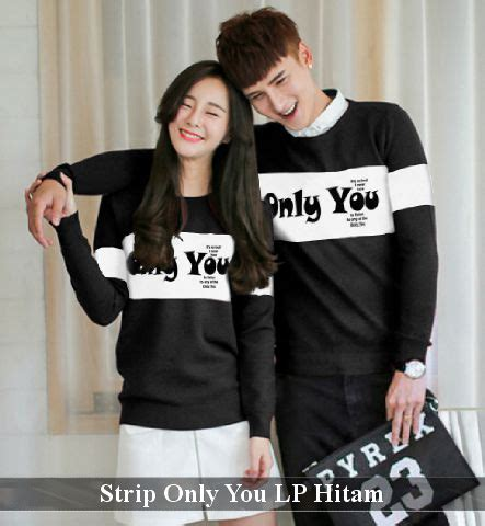 Sweater Only Human Hitam Baju Only You Lp Hitam Harga 120rb Reseller