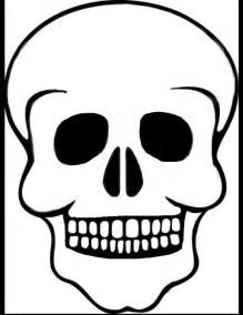 dead outline template best photos of skull outline template sugar skull felt