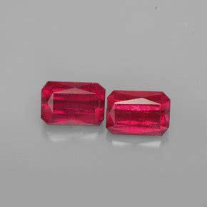 Ruby Oktagon ruby 2 7 carat octagon emerald cut from mozambique gemstones