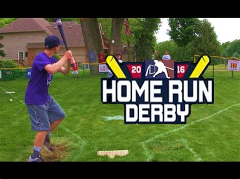 backyard home run derby game best young wiffle pitchers funnydog tv