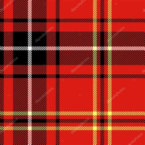 plaid pattern illustrator vector tartan traditional checkered british fabric seamless