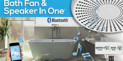 Bathroom Fan Bluetooth by Blue Bathroom Update Bluetooth Fan That