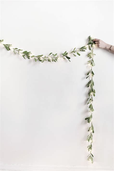 diy string lights garland