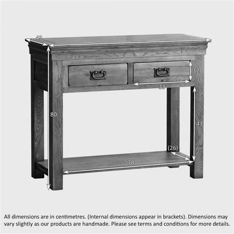 rustic farmhouse console table farmhouse console table solid oak oak furniture