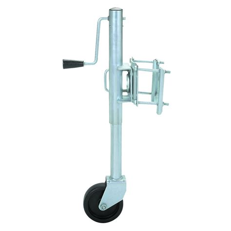boat trailer on jack stands 1000 lb swing back trailer jack