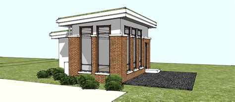 cinder block garage plans on the boards green roof office wilson architects inc