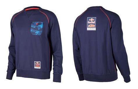 Ktm Racing Apparel Bull Ktm Factory Racing Crew Sweatshirt Bull Ktm