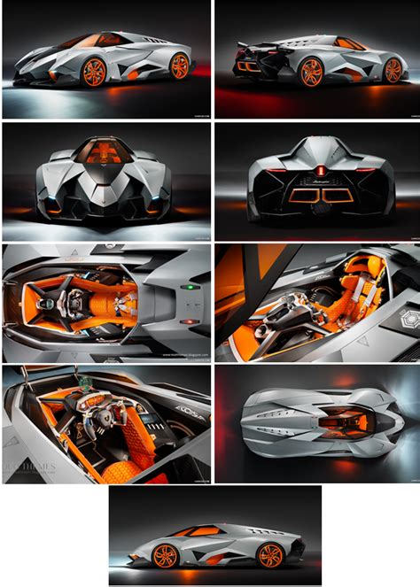 Lamborghini Theme Song Lamborghini Egoista Concept Theme For Windows 7 And 8