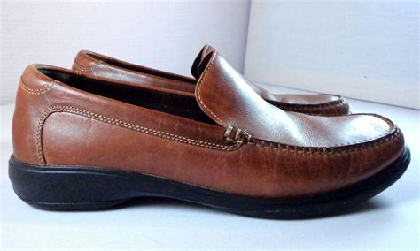 nike air loafers cole haan nike air loafers mens 11 m brown leather slip on
