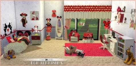 jenni sims bedroom minnie mouse  fabyjenni sims