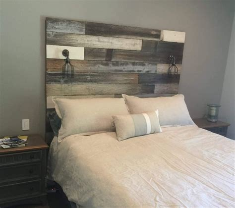Reclaimed Wood Headboard Best 25 Reclaimed Wood Headboard Ideas On Pinterest Diy Wooden Headboard Contemporary Beds