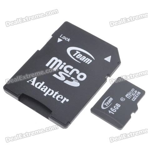 Micro Sd Team 16gb genuine team 16gb class 10 micro sd sdhc card with sd card adapter free shipping