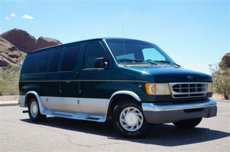 how to fix cars 1999 ford econoline e150 auto manual purchase used 1999 ford e150 econoline conversion van arizona zero rust one owner clean carfax