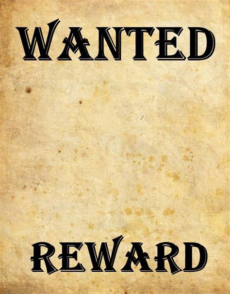 most wanted template poster 9 wanted poster templates word excel pdf formats