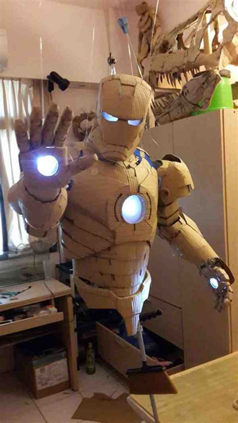 How To Make A Paper Iron Suit - diy bob marley cable extension cord storage do it