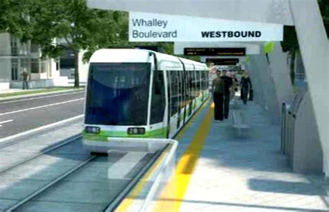 Light Rail System by New Caign Urges For Light Rail Transit System In Surrey