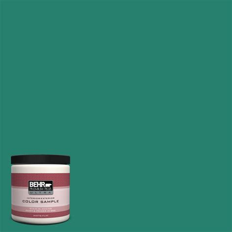 behr premium plus ultra 8 oz 500f 4 swan sea interior exterior paint sle 500f 4u the home