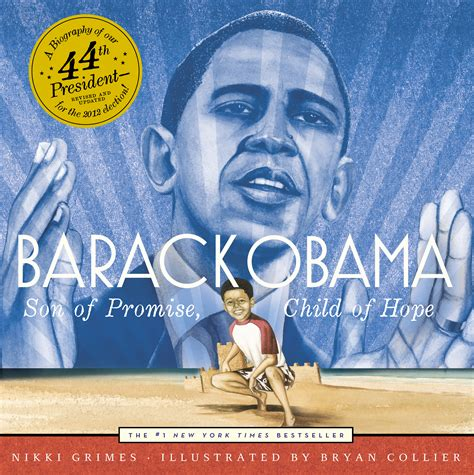 best barack obama biography book barack obama book by nikki grimes bryan collier