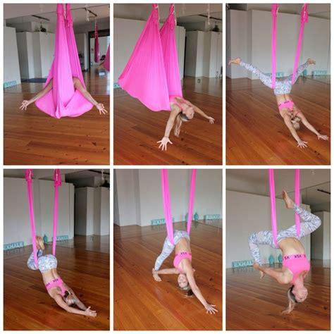 yoga trapeze tutorial 144 best pole dance aerial hoop yoga hammock images on