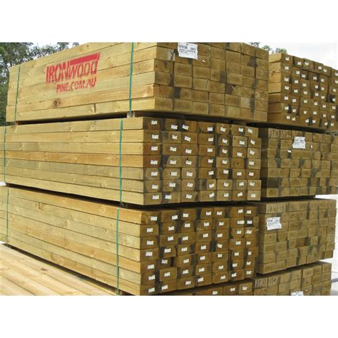 Treated Pine Sleepers Bunnings by 200 X 50mm 1 8m Treated Pine Sleeper Bunnings Warehouse