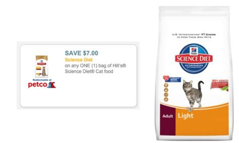 science diet dog food coupons printable 2015 new 7 1 hill s science diet cat food coupon hip2save