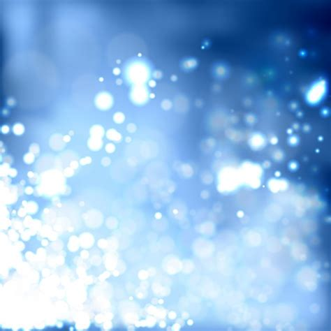 Bright Lights - bright lights background in blue tones vector free