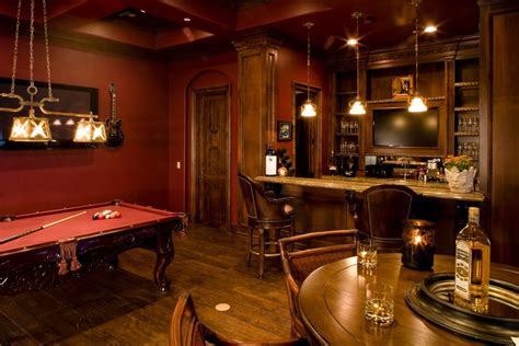 pub room game room bar ideas family room contemporary with arcade
