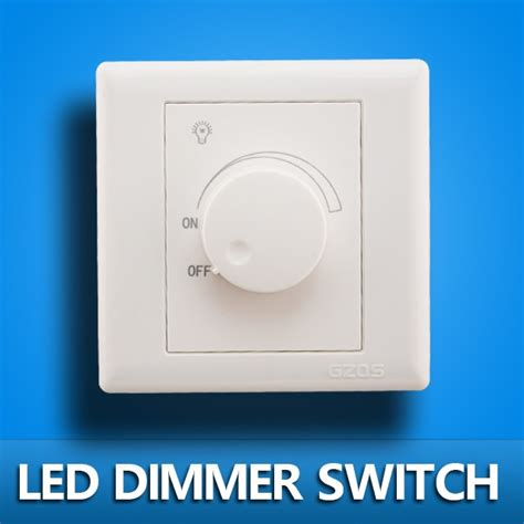 what dimmer for led lights led scr dimmer switch 630w ac 220v adjustable controller