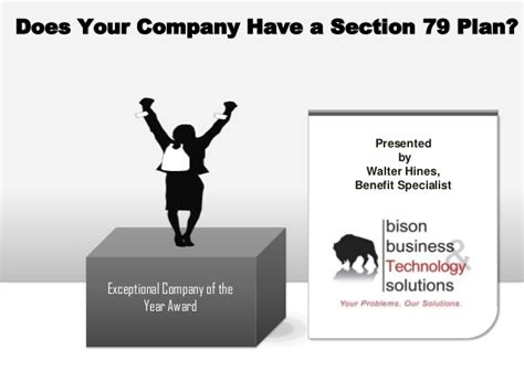 section 79 plan does your company have a section 79 plan