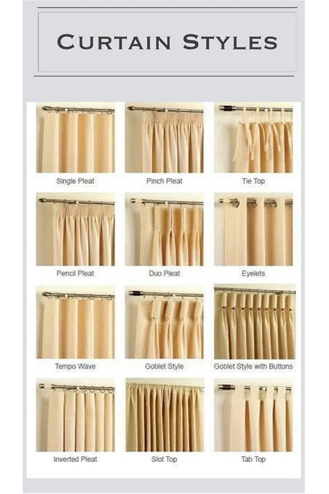 Which Curtain Style To Go For Pickndecor Com