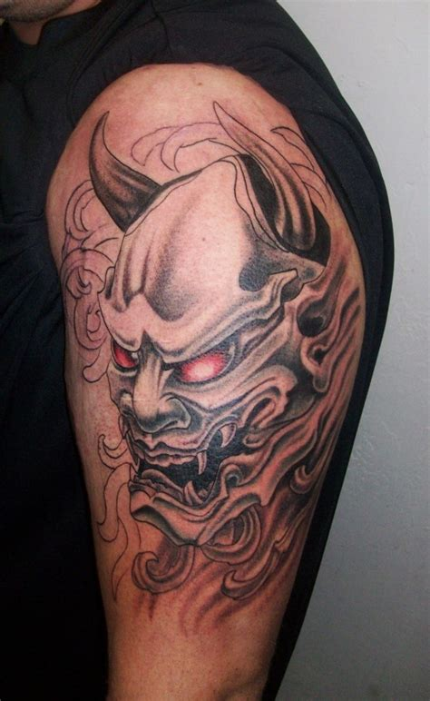 yakuza kill tattoo oni mask tattoo in progress tattoo japonais pinterest