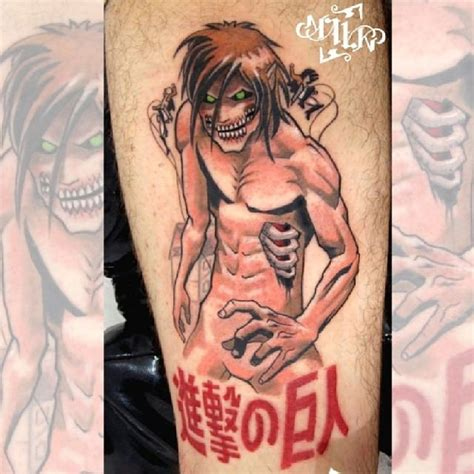attack on titan tattoo 15 attack on titan tattoos even mikasa will be envious of