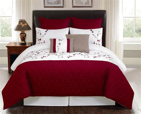8 piece comforter set queen 8 piece queen julian embroidered comforter set ebay