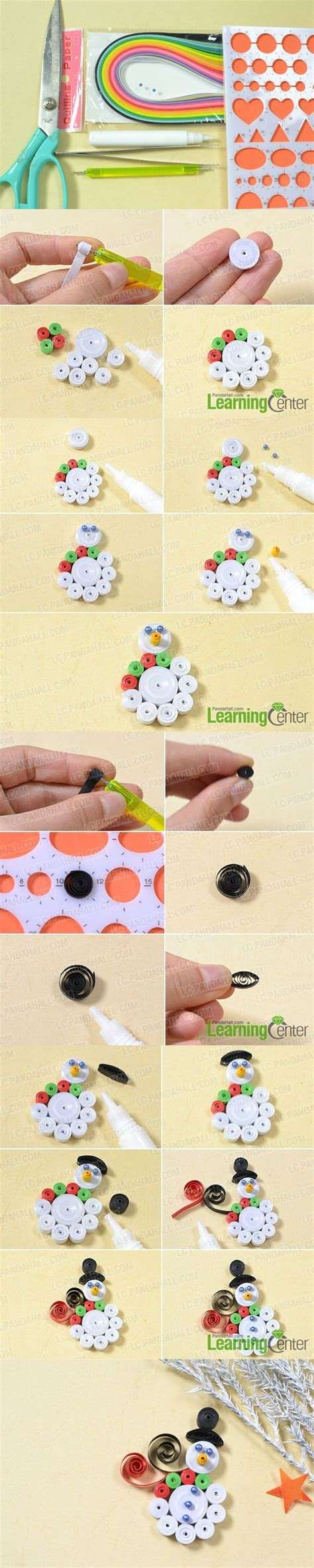 Quilling Paper Craft Tutorial - top 25 best paper quilling tutorial ideas on