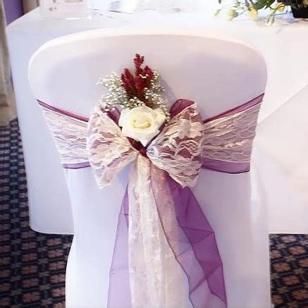lace chair sashes east lace sashes and bows esta s chair covers and photo booth