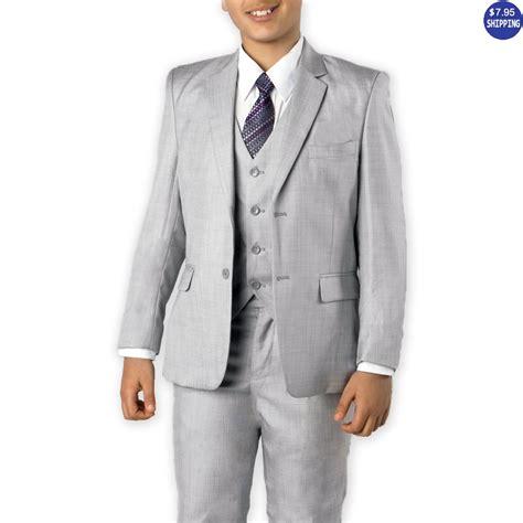 boys light gray suit boys dress shoes black patent leather tuxedo shoes
