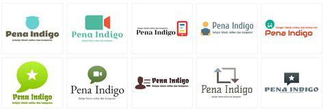 membuat logo usaha online cara membuat logo secara online gratis terbaru pena indigo