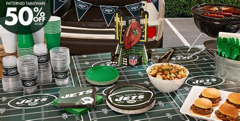 Football Decorations City by Nfl New York Jets Supplies City