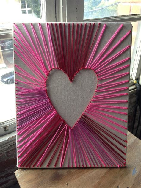 String On Canvas - string v day edition creativebug