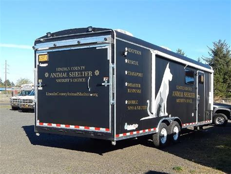 lincoln county animal shelter oregon animal shelter has a new trailer to help animals