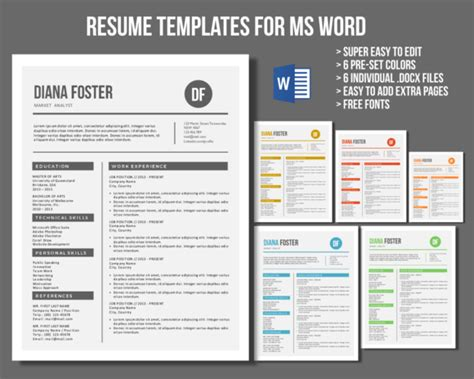 how to find resume templates on microsoft office word 2007 neat word resume templates resume templates on creative market