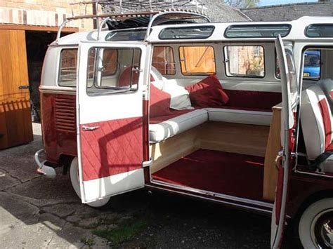 volkswagen old van interior classic custom cers vw cer vans cers and vw cer