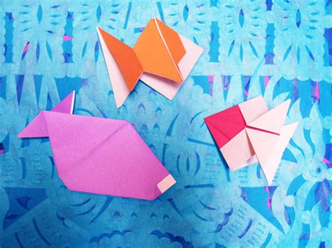 Origami Toys That Tumble Fly And Spin - more origami fish